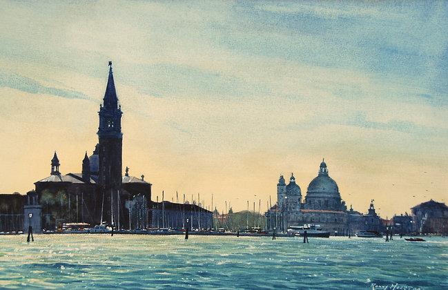 View towards San Giorgio Maggiore