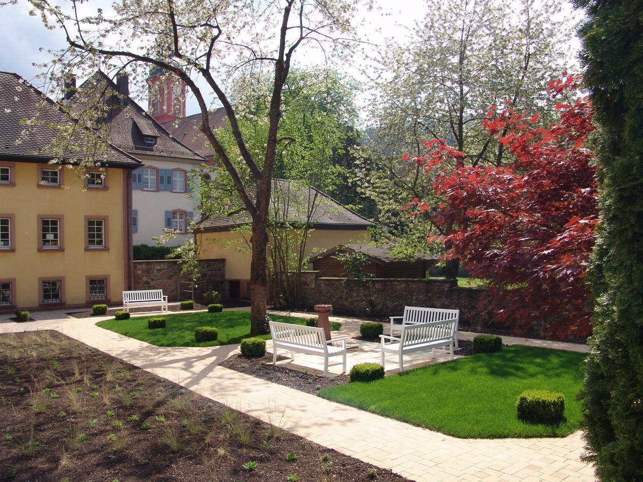 Garten der Sozialstation