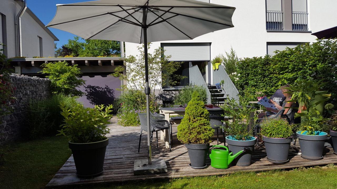 Reihenhausgarten in Waldkirch