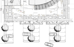 Entwurf Freianlagen Eingangsbereich