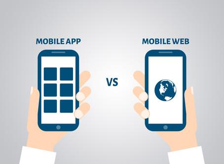 Et en 2019, App ou Web Mobile ?