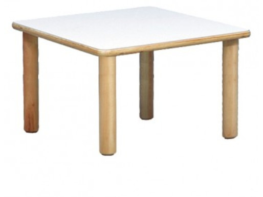 Tavolo in legno per Asilo Nido e Ludoteca
