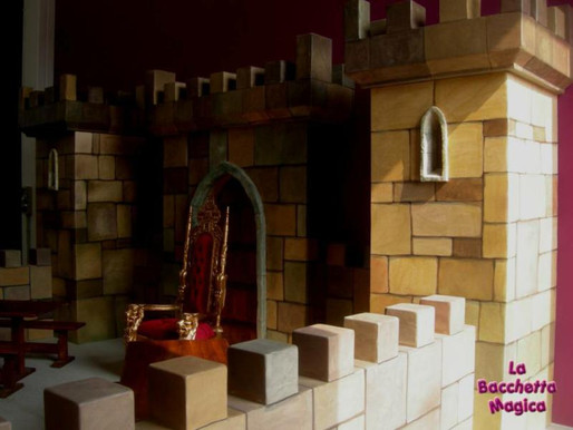 Scenografia Castello Medievale per Ludoteca