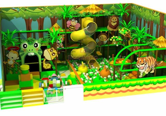 scenografia giungla ludoteca jungle (2).