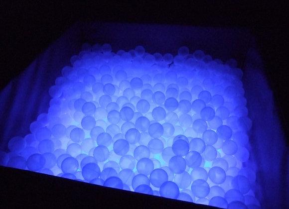Piscina palline Cristal illuminata