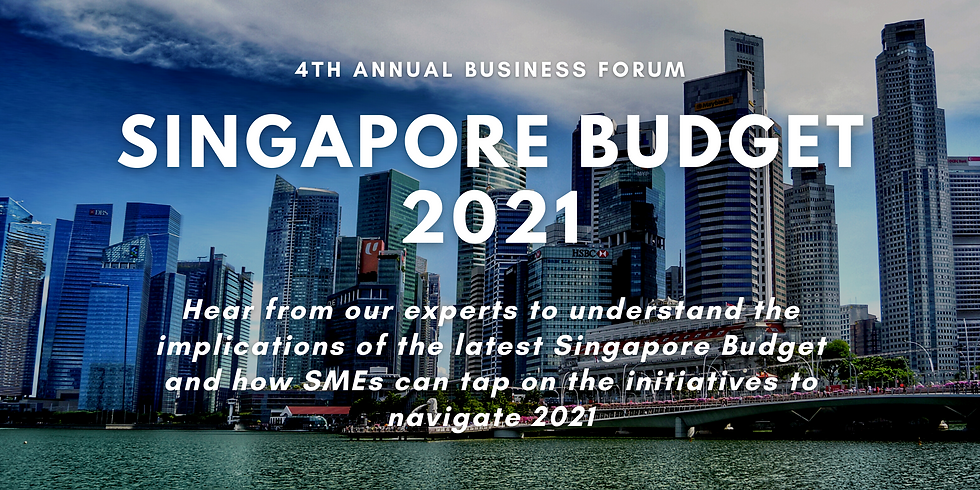 4th Business Forum on SG Budget 2021