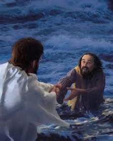 Jesus Helps Peter