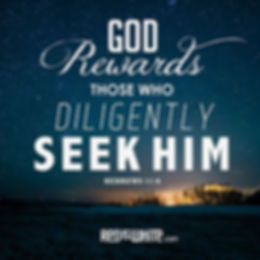 Rewards of Seeking God