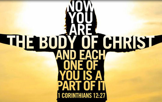 Parts of Body of Christ