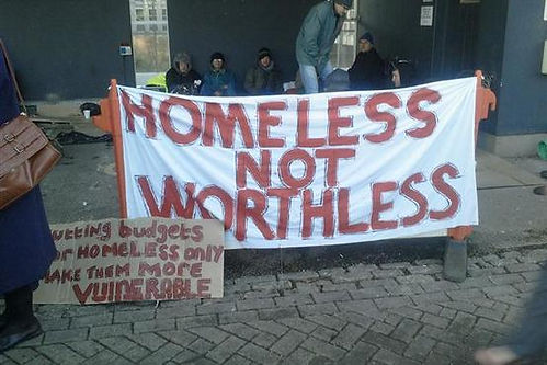 Homeless Banner