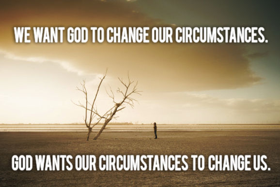 Living Above Our Circumstances