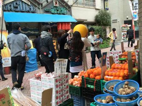 今日は方南銀座商店街振興組合テレビ撮影に協力しています。