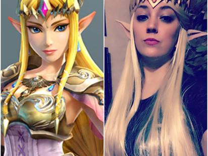 Princess Zelda Cosplay: Wig & Makeup Teaser