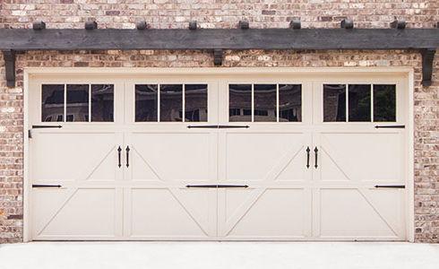 Cream Steel Wayne Dalton Residential Garage Doors