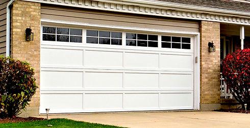 Tucana white Hormann Residential Garage Doors
