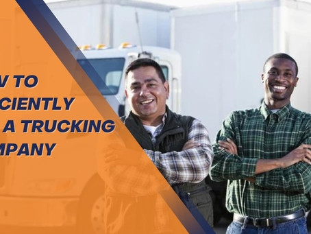 Managing a Trucking Company?