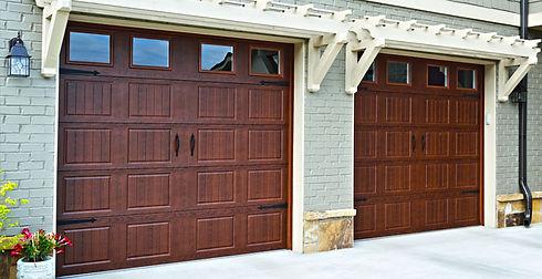 Timberlast Finish Walnut Hormann Residential Garage Doors