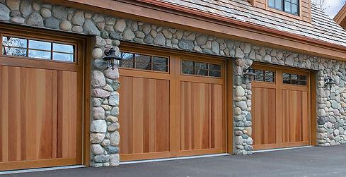 Polaris Oak woodgrain Hormann Residential Garage Doors