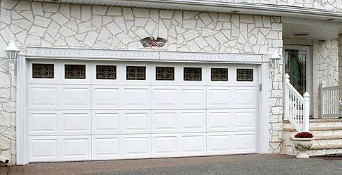 Sirius white Hormann Residential Garage Doors