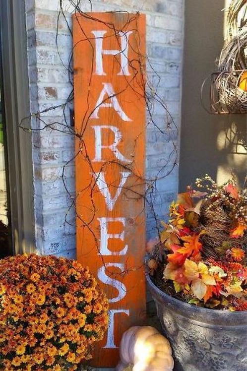 Harvest Tall Sign
