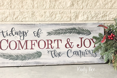 Tidings Of Comfort & Joy