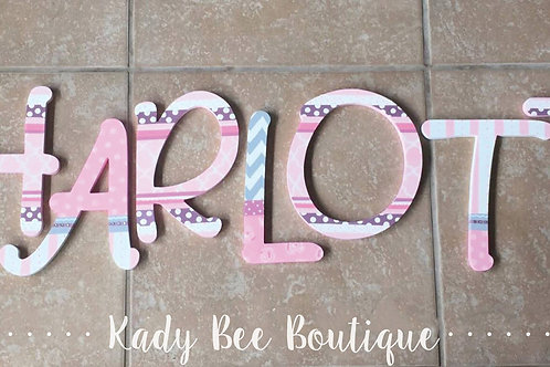 Wall Letters - Font 5