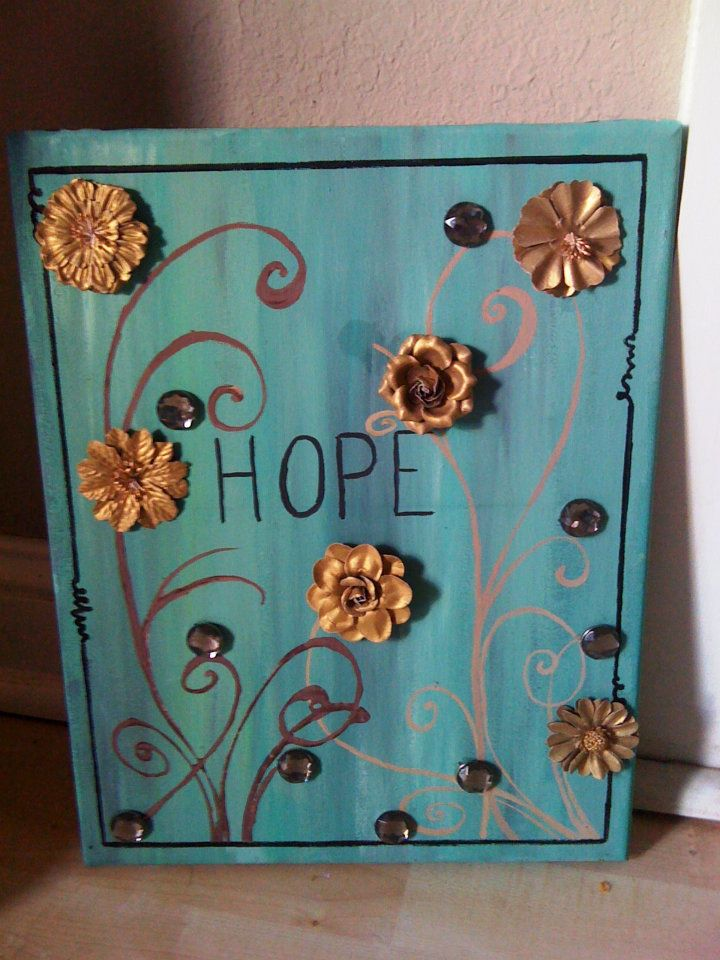 Hope Painting Kady Bee Boutique