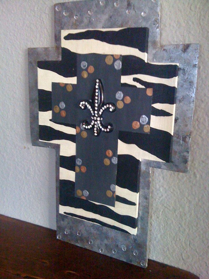 Metalic Layered Cross