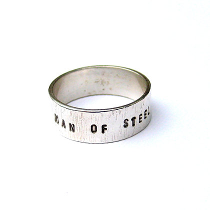 Man Of Steel  Ring
