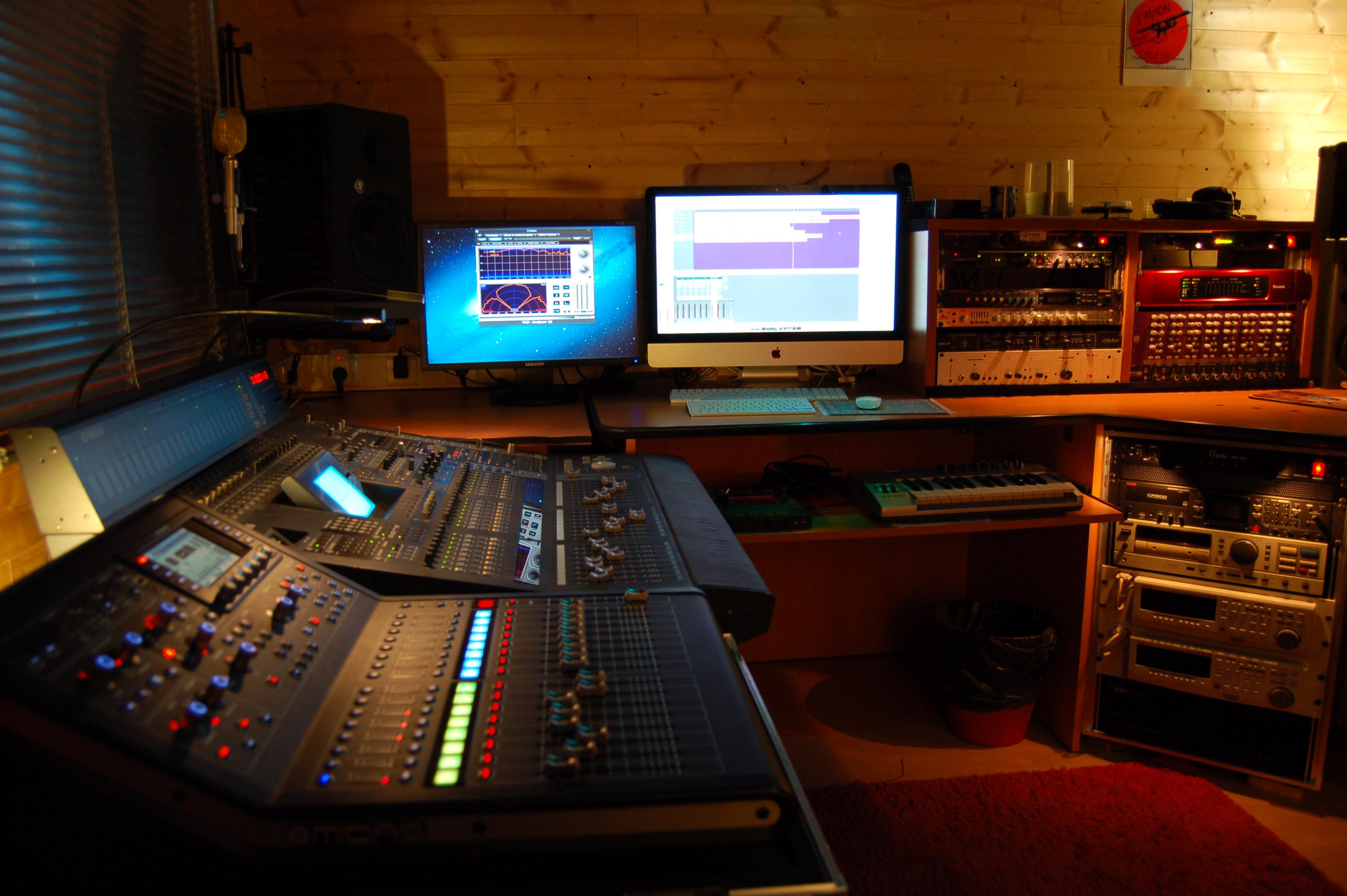 Studio D - Régie d'enregistrement