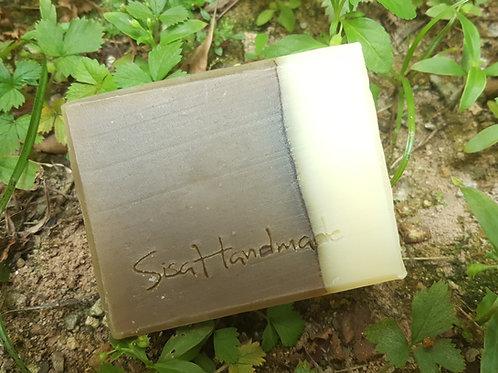 OH01b 薄荷茶籽洗髮皂 Peppermint Camellia Shampoo Soap
