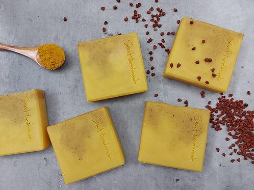 OS01e 胭脂薑黃皂 Annatto Turmeric Soap