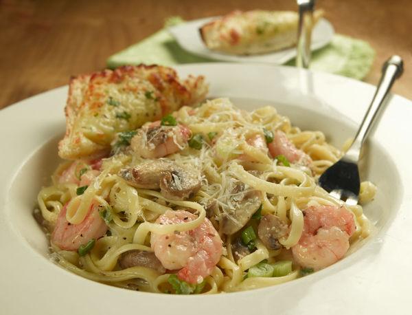 Folsom Pete's Linguine Shrimp Pasta Catering