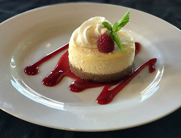Folsom Pete's Cheesecake Dessert Catering