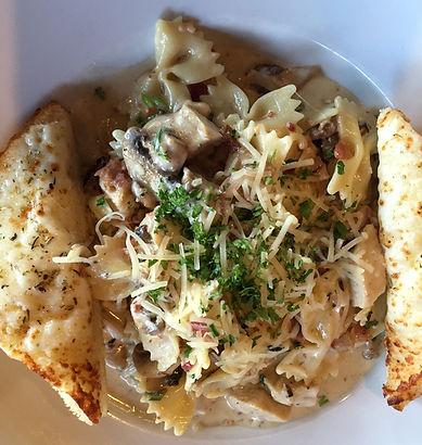 Folsom Pete's Chicken Gorgonzola Pasta Catering