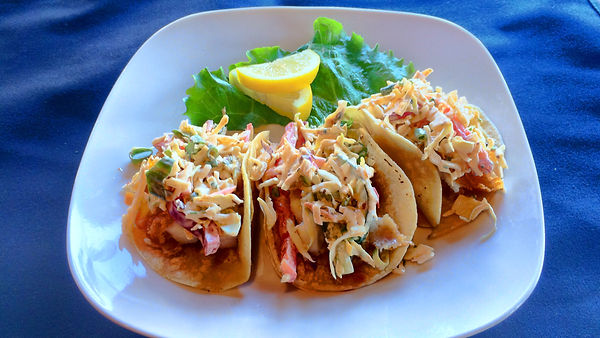 Crispy Brewhouse Fish Tacos
