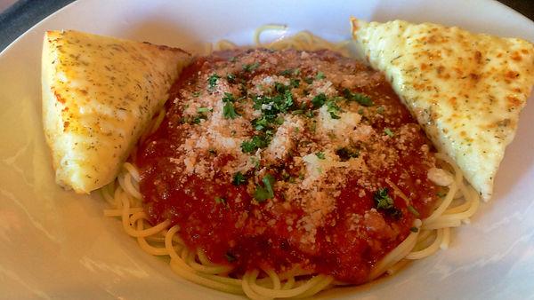 Folsom Pete's Spaghetti Bolognese Pasta Catering