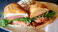 Sicilian Meatball Sandwich