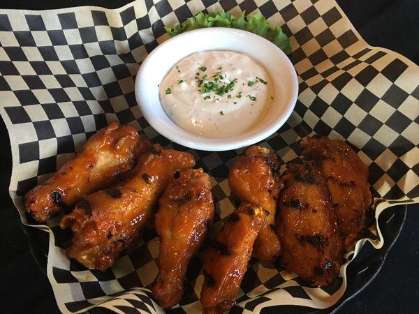 Sweet & Spicy Glazed Chicken Wings