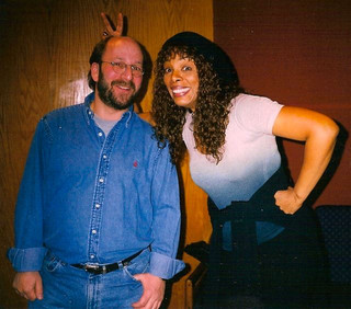 With Donna Summer in Nashville recording my McDonalds spots.