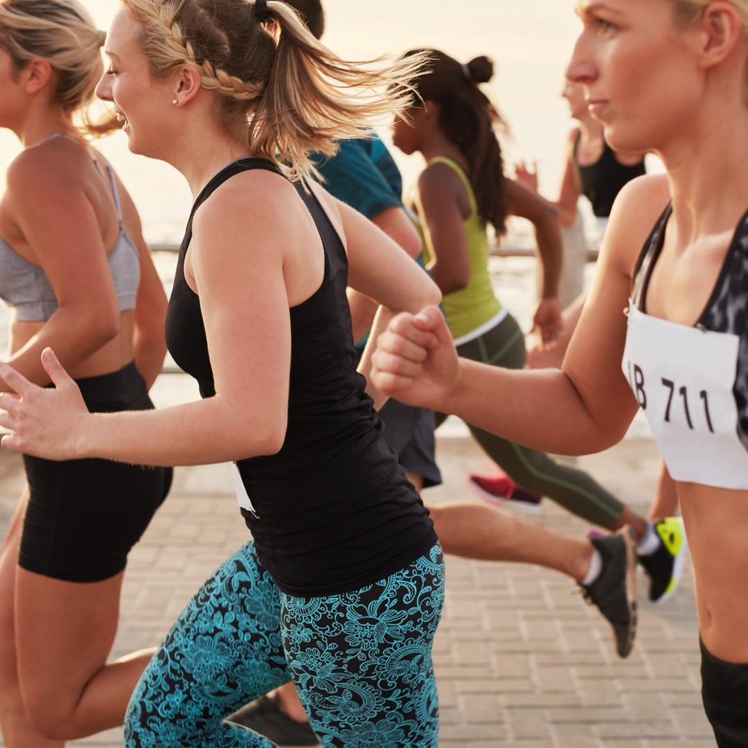 Kvinner Running Race