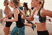 Vrouwen loopwedstrijd