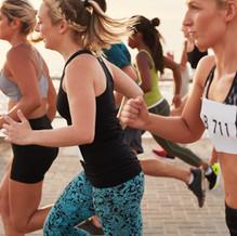 Women Running Race