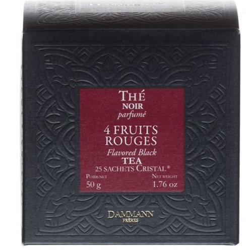 Quatre Fruits Rouges - Tea Bags - Dammann Frères