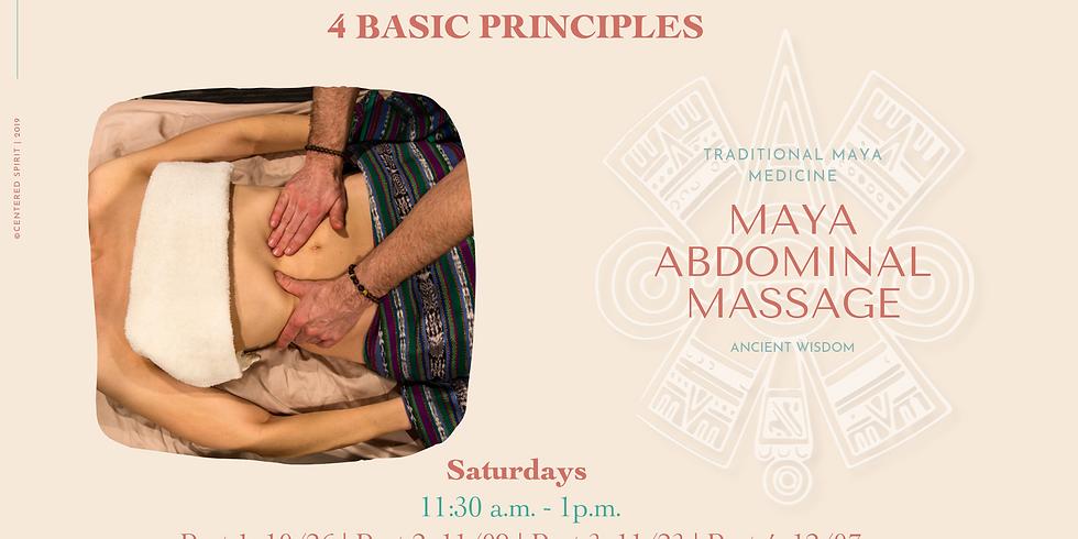 4 Basic Principles: Maya Abdominal Massage