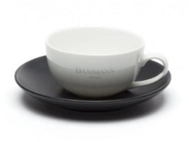 6oz Tea Cup  w/ Saucer Dammann Frères