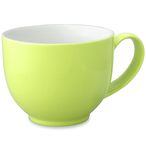 Lime Tea Cup with Handle - 10 oz.