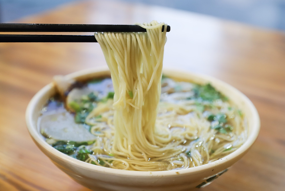 Ramen Noodle in Bone Broth