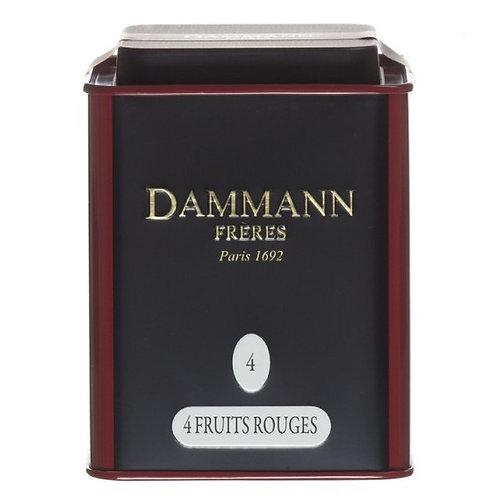 Quatre Fruits Rouges - Tin - Dammann Frères