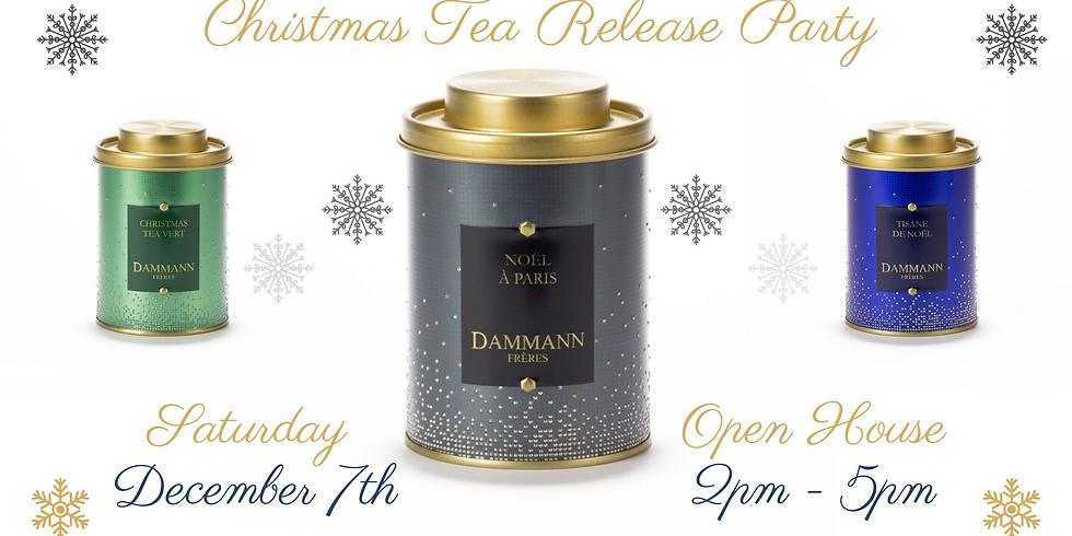 Christmas Tea Release Party | Open House